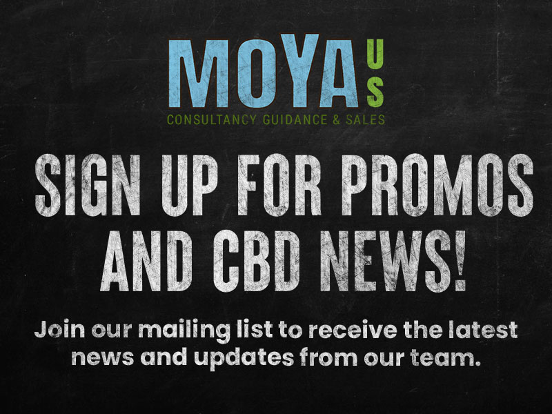 SIGN UP FOR PROMOS AND CBD NEWS!